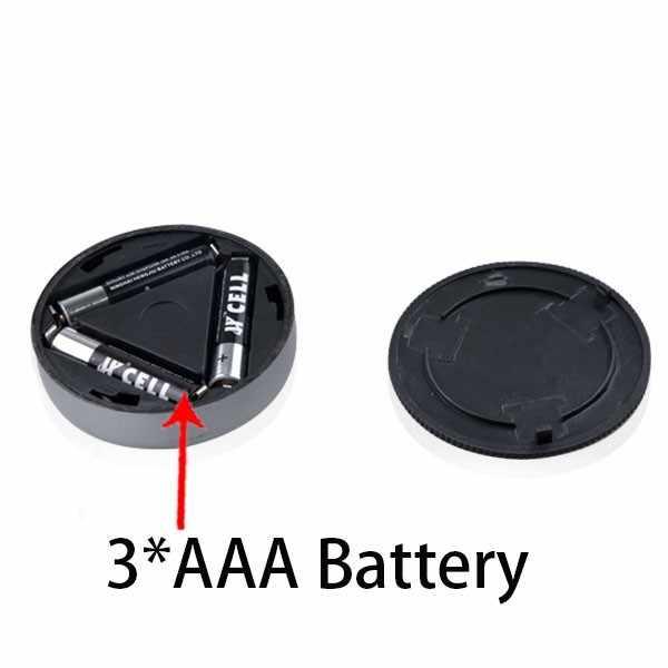 ABS пластик 3 Диоды питающиеся от батареек кран свет стены кухня освещение для шкафа сенсорный свет 3 светодиодный маленький дом сенсорный светильник