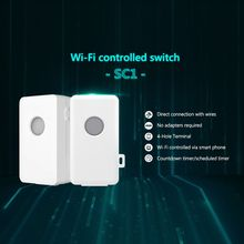 Broadlink SC1 Wifi Controller Sensible Dwelling Automation Modules For Android Cellphone IOS APP Wi-fi Distant Managed Swap 100-250V