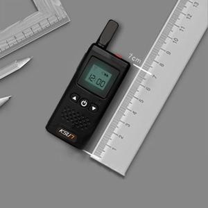 Image 4 - Ksunトランシーバーミニミニチュア民間ヘアサロン 4 4s店美容サロンホテル小型ワイヤレスインターホントランシーバー