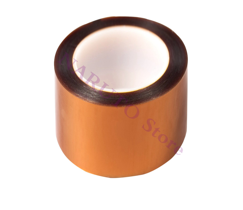 Bi-Adhesive Goldfinger Tape Polyimide Double Sided Masking Tape High Temperature Polyimide Tape 100mm*10m For 3D Printer CNC multi color 1 roll 20m marking tape 100mm adhesive tape warning marker pvc tape