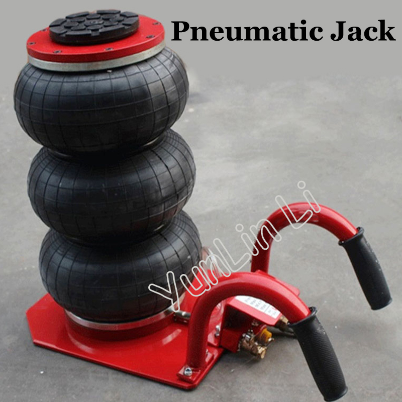 Pneumatic Airbag Jack Pneumatic Jack white air pressure auto jack instrument of vehicle maintenance and repair free shipping new arrival 4 ton exhaust air jack auto jack for sedan and suv ce certificate