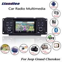 Liandlee для Jeep Grand Cherokee 1999 ~ 2004 Android автомобильный Радио CD dvd плеер gps навигатор карты камера OBD ТВ экран медиа