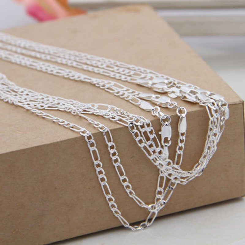Figaro Chain Necklace2