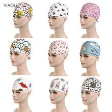 Розовые хирургические кепки с принтом/шляпа для домашних животных, шляпа для врача, шляпа для стоматолога, принт для девочек, аксессуары для медсестер, цена, женская шапка