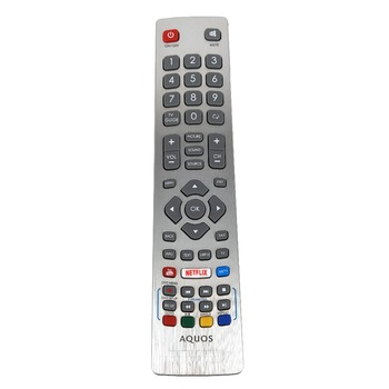 NEW Genuine Original  for Sharp Aquos HD Smart LED TV Remote Control DH1901091551 With YouTube NETFLIX Key Fernbedienung 1