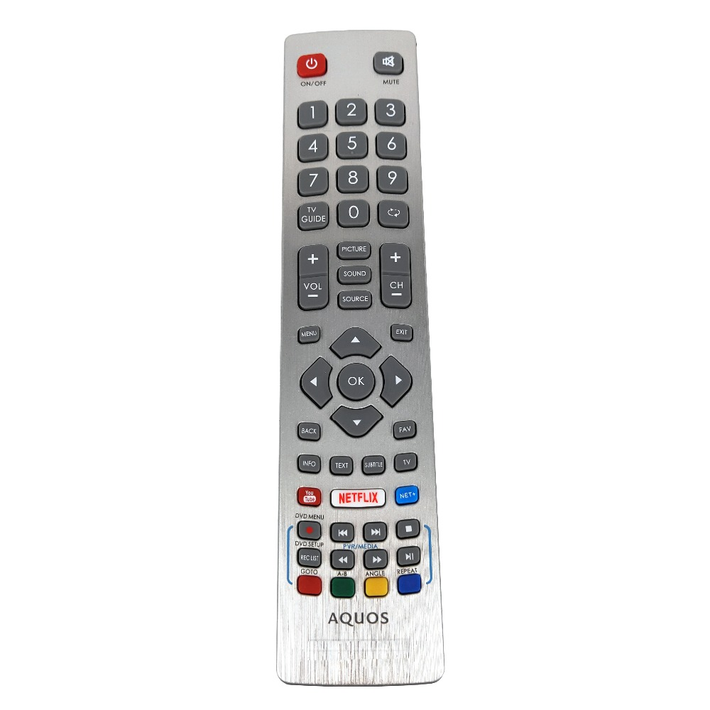 Key-Fernbedienung NETFLIX Remote-Control-Dh1901091551 Youtube Smart Sharp Aquos Original title=