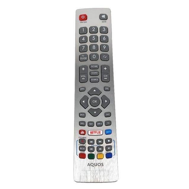 NEW Genuine Original  for Sharp Aquos HD Smart LED TV Remote Control DH1901091551 With YouTube NETFLIX Key Fernbedienung