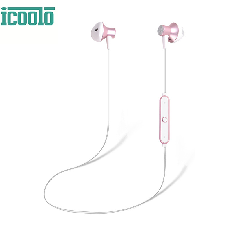 ICOOLO Bluetooth Headphones Wireless V4.1 Magnetic Stereo