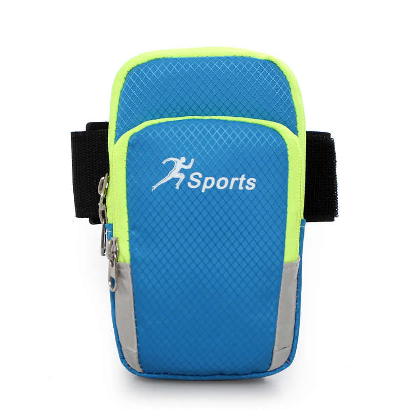 Thể thao Chạy Armband Bag Trường Hợp Che Chạy Băng Tay Phổ Waterproof Điện Thoại Di Động Túi Chủ Thể Thao Ngoài Trời Điện Thoại Arm pou