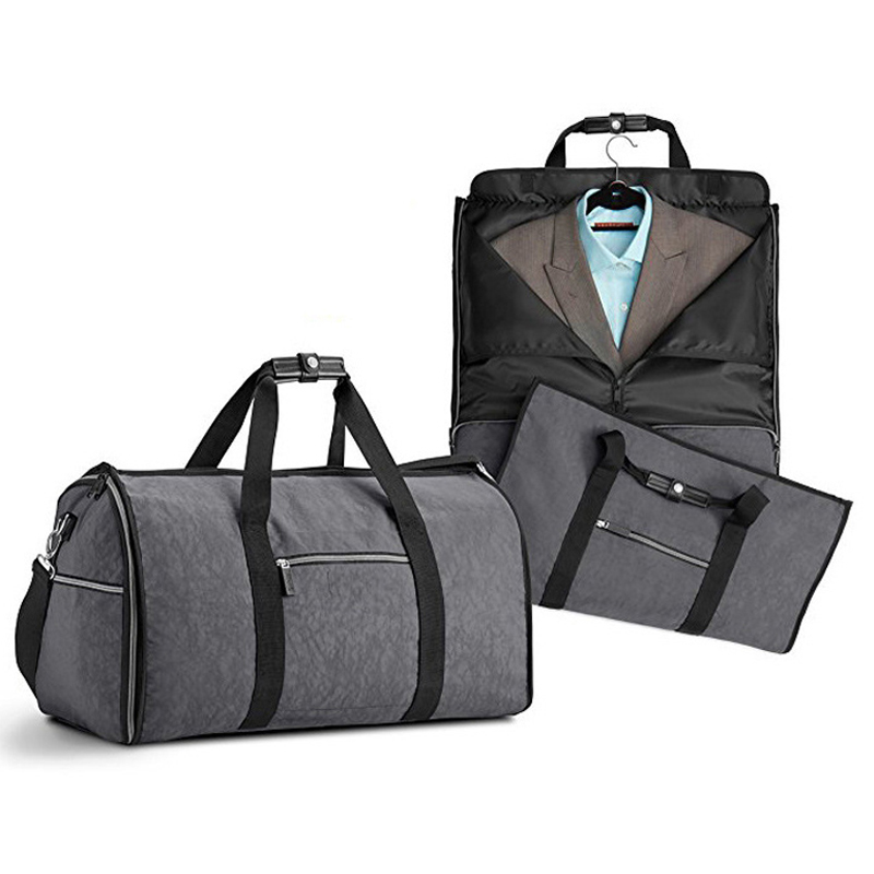 Suit Bag Durable Men Business Trip Travel Bag For Suit Clothing Case Big Organizer Duffle bag ...