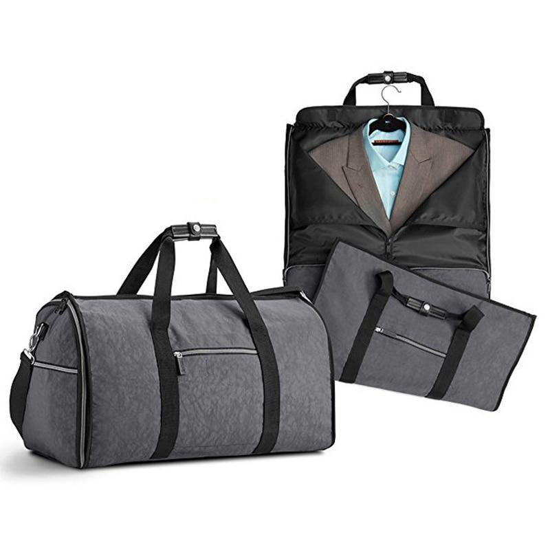 Suit Bag Durable Men Business Trip Travel Bag For Suit Clothing Case Big Organizer Duffle bag
