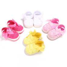 Infant Baby Girl Summer Shoes Sweet Bow Soft Sole Newborn Baby Kids Princess Shoes First Walkers Crib Bebe Footwear For 0-1T