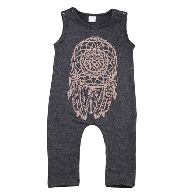 a16ddc957 2018 New Arrival Cute Toddler Baby Girls Boys Tattoo Print Bodysuit  Playsuit Jumpsuit Outfits Clothes L3