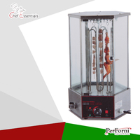 PK JG 36 2 Electrin Rotary Mutton String Roaster For Commercial Products