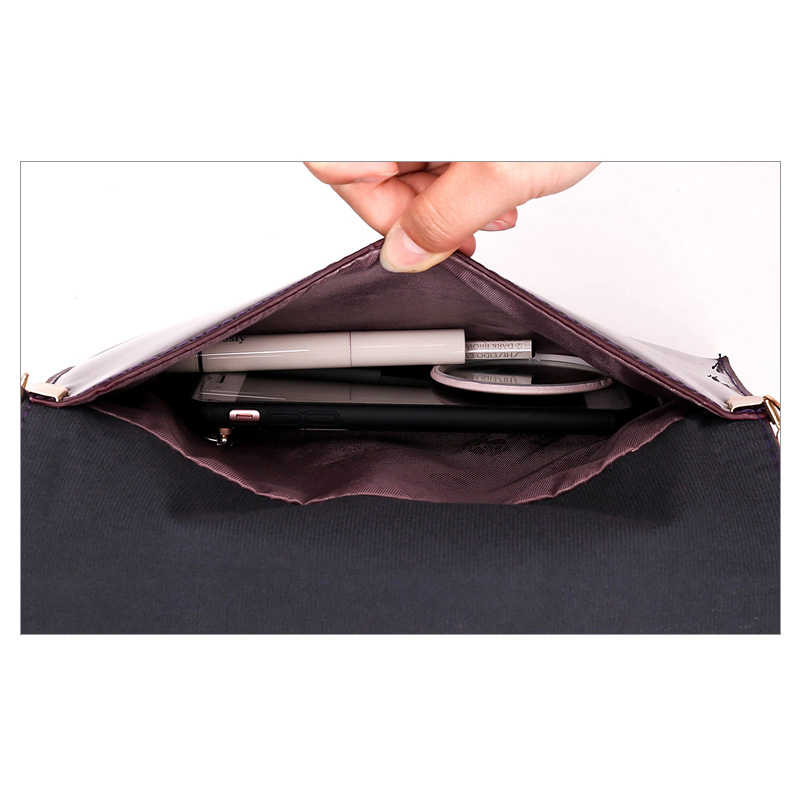 3 Sets  Patent Leather Handbags Brands Tote Bag+Ladies Shoulder Messenger Crossbody Bag+Clutch Feminina
