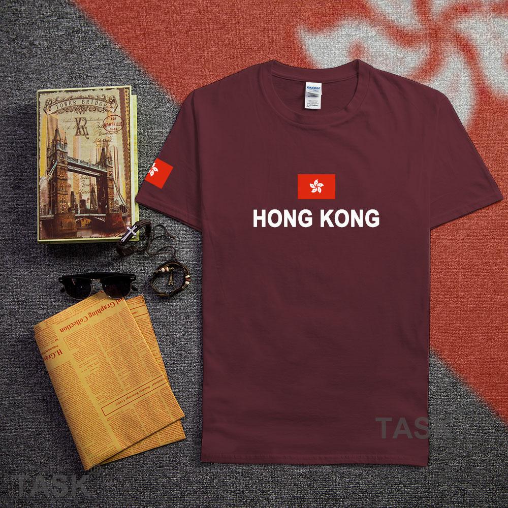 Design your own t shirt hong kong - Hong Kong Mens T Shirts Fashion 2017 Gyms Jerseys Nations Cotton T Shirt Meeting Fitness China Clothing Tees Country Flags Hk