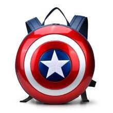 Мода Капитан Америка щит рюкзак Малый буле Рюкзаки Специальных личности Женщин Сумки Американский фильм Характер мешок