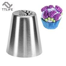 TTLIFE DIY пищевая 304 Нержавеющая сталь лист насадка для пирожных глазурь трубопровод инструменты для украшения тортов из мастики Форма для кексов