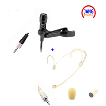 Professional Headset Microphone and Lavalier Microfone Condenser for Sennheiser Wireless Transmitter TRS 3.5mm Jack Mickrofon