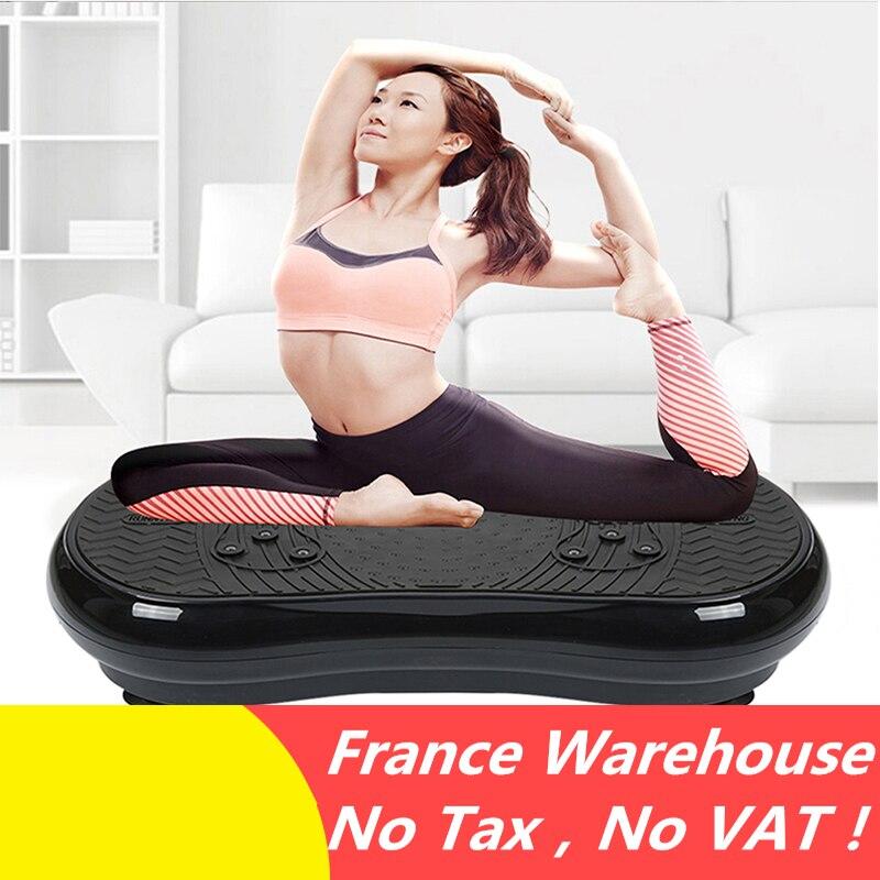 Machine de Vibration Exercice Formateur Vibrant Plaque Plate-Forme Corps Shaper Massager Perdre Du Poids Équipements UE Plug HWC