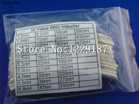 New original0603 SMD Inductor Assortment Kit high frequency inductors pack 33 value 660pcs