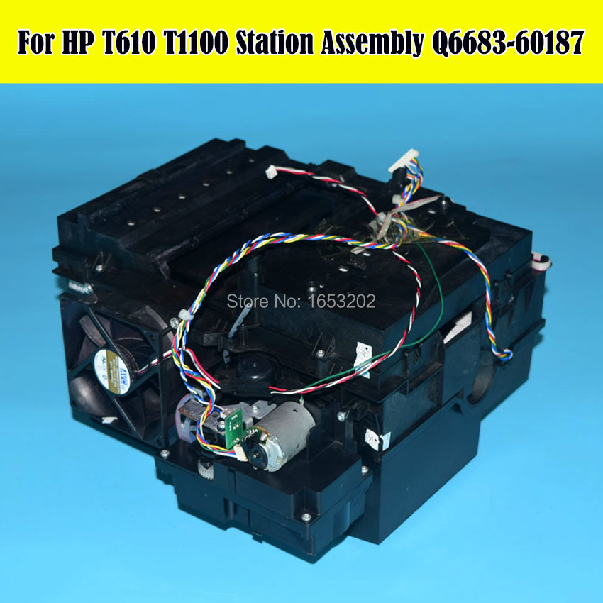 Q6683-6 90% New Original Service Clean Station T610 T1100 Ink Pump Assembly For HP Designjet T610 T1100 Printer for hp1100 t1100ps t610 40g hard drive hdd formatter without new q6683 67027 q6683 67030 q6684 60008 q6683 60193 q6683 60021