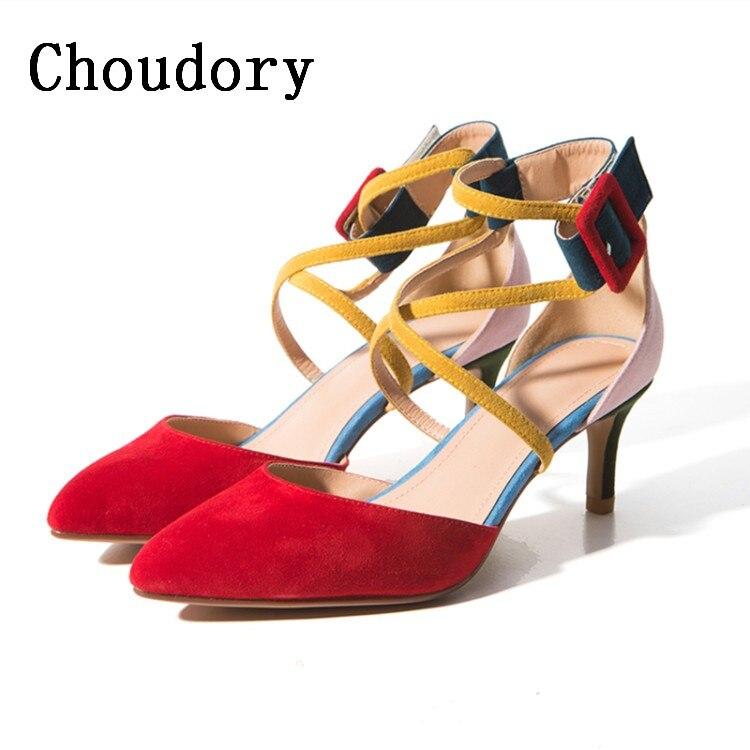 Candy Color Cross Tied Gladiator Sandals Women Pumps 2017 Spring New Shoes Woman Thin High Heels Sexy Wedding Shoes Sandalias u66 metal 32gb usb 2 0 u disk