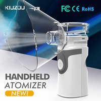 Nébuliseur à ultrasons Portable Mini inhalateur portatif respirateur humidificateur Kit soins de santé enfants maison inhalateur Machine atomiseur