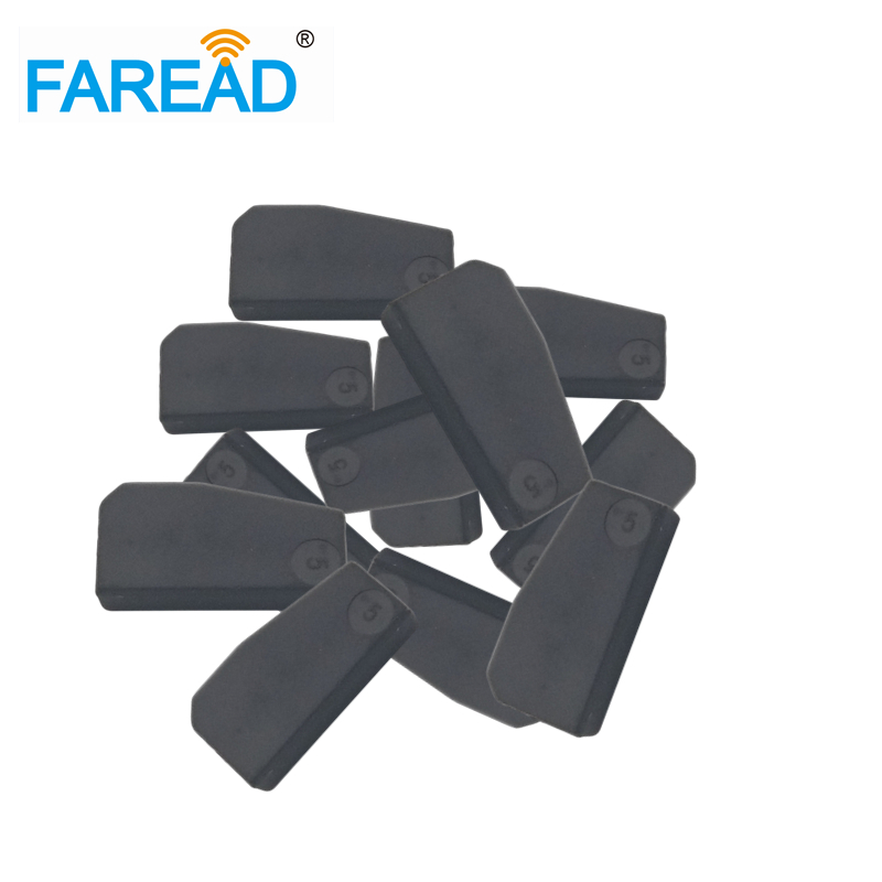 Free Shipping X10pcs Transponder Chips 4D60 80bits Carbon Car Key For Ford Mazda