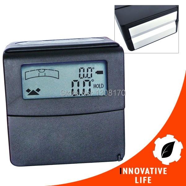 ФОТО Mini Digital Level +/-180 degree Range Angle Finder Tilt Gauge Bevel Box with Magnetic base and V-groove