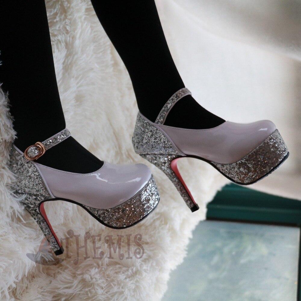 Athemis Hatsune Miku cosplay chaussures à talons hauts pour 100 cm de vraies poupées