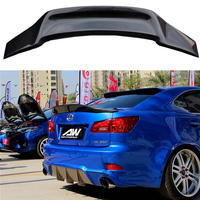 Carbon Fiber Rear Trunk Boot Duck Spoiler Back windshield Wing For Lexus IS IS250 IS300 IS350 2007 2013 Car Styling