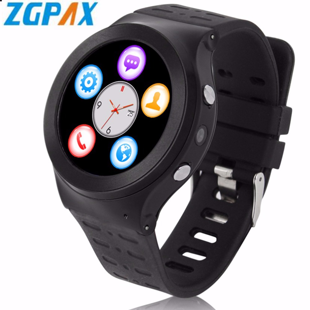 Original ZGPAX S99 3G Smart Watch Quad Core Android 5.1 8G ROM GPS WiFi Bluetooth Heart Rate Smart Watch Phone As Christmas Gift zgpax s99 quad core 3g smart watch android 5 1 with 8gb rom 5 0 mp camera gps wifi bluetooth v4 0 pedometer heart rate monitor