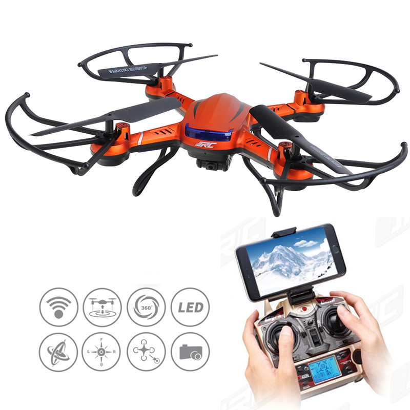 ФОТО JJRC H12WH 2.4GHz 4CH WiFi Transmission high altitude Drone RC Quadcopter - HD Camera RC Drone Remote Control Helicopter