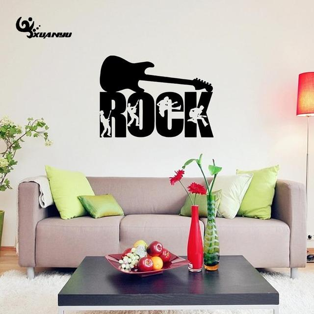Rock Arts Wall Sticker Wallpaper Stickers For Living Room Sofa Background Decoration Home Decor F
