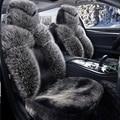 Специальные меховые чехлы на сиденья автомобиля Для BMW e30 e34 e36 e39 e46 e90 f10 f30 x1 x3 x5 e53 x6 325 520 320 автомобильные аксессуары для укладки красный