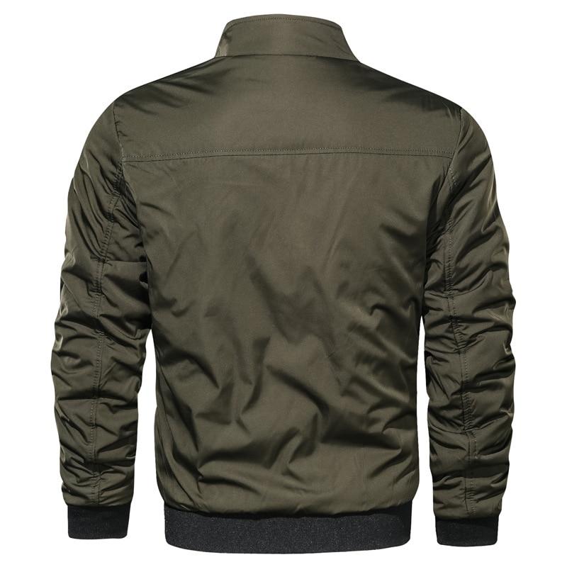 HTB1pNCPXuH2gK0jSZJnq6yT1FXaR LBL Casual Bomber Jacket Men Slim Fit Autumn Winter Double Side Mens Military Jackets Outwear Coat Man Sportswear Tracksuit 2019
