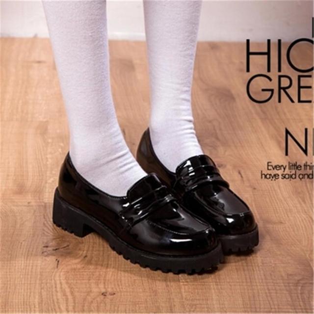 Chaussures noires Kawaii femme Gi08i2Z4Me