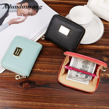 Zipper&Hasp Women Wallet For Coin Card Cash Invoice Fashion