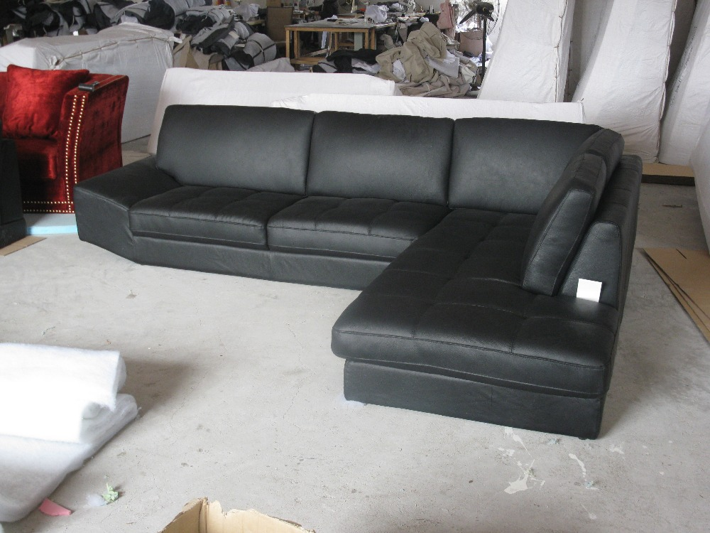 Elegante en rationele lederen bank Sofa in de woonkamer sectionele - - Meubilair - Foto 3