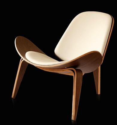 Free Shipping- Three Legged Shell Chair free shipping three legged shell chair