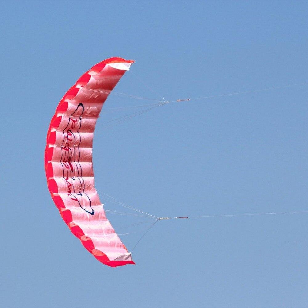 HTB1pNDMKbSYBuNjSspfq6AZCpXaY - ร่มพาราไกลดิ้ง ขนาด 1.4 เมตร แบบคู่ ร่มไนลอน กีฬาทางน้ำ กีฬาชายหาด เล่นกลางแจ้ง Parachute Surfing Kite Paragliding -