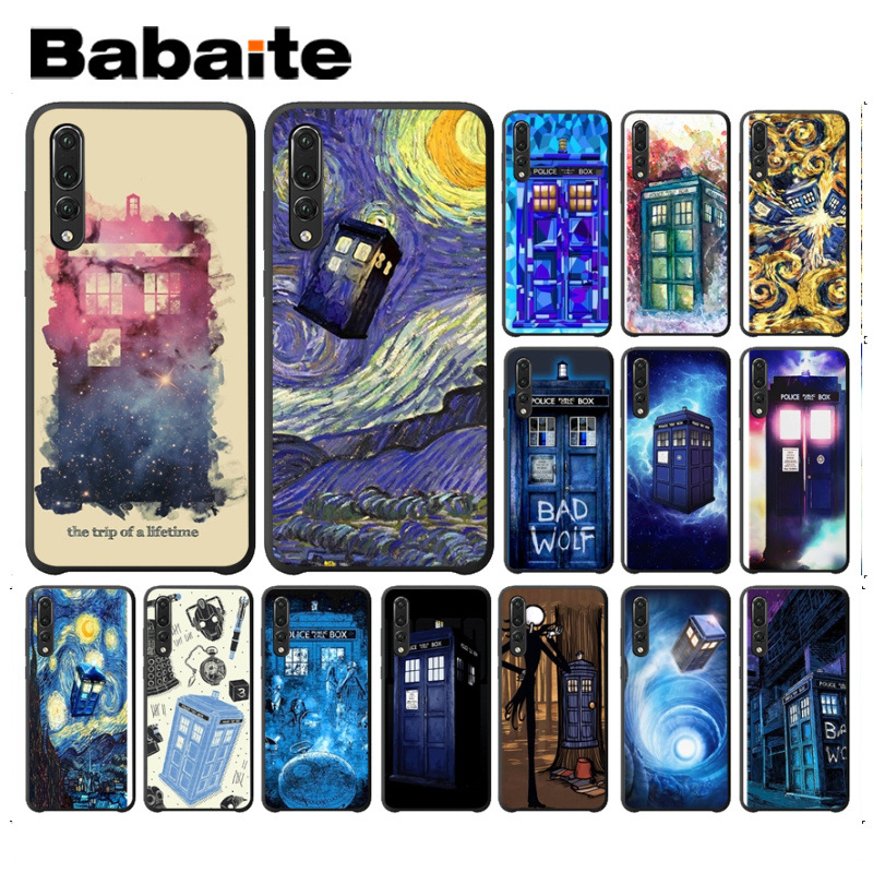 Disciplined Babaite Doctor Who Tardis Box Black Tpu Soft Silicone Phone Cover For Huawei P20 Pro P20lite P9lite Nova 3i Mate20 Pro Cases Phone Bags & Cases