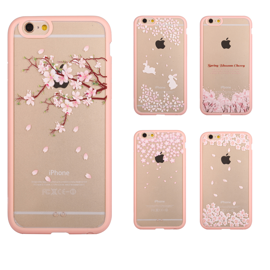 finest selection 08365 93969 US $1.99 |Phone Case For iPhone 5s 5 SE 7 7 Plus 6 6s Plus 5C 4 4s Cherry  Blossom Trees Cats Back Cover Acrylic Cover For iPhone 5 Case on ...