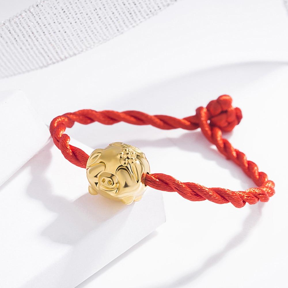 Храбрые войска браслет Для женщин браслет милый счастливый браслет Модная бижутерия для декорирования - Окраска металла: red