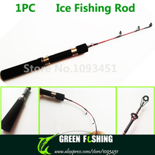 Free Shipping 0.45m New Portable Mini Ice Fishing Rod Small Fishing Pole With Winter Fly Fishing Reel