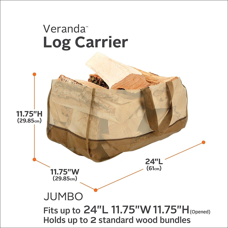 Del A Trasporto Pacchetto Log Carrier Kit Grandi Camino 1 Dimensioni Miei Giorni Sacchetto Supporto I 600d Strumenti Di Registrazione Tote Legna Capacità Oxford Fuoco Mano Hpanqw8