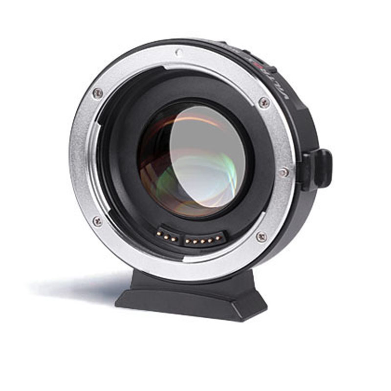 The Advance Sale of Viltrox EF-M2 Metal Electronic Auto Focus Lens Adapter on M43 camera for Canon EF-mount EF-S series lens