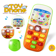 Electronic Toy Phone For Kids Baby Mobile Phone Educational Learning Toys Music Sound Machine Toy For Children (Color Randomly)