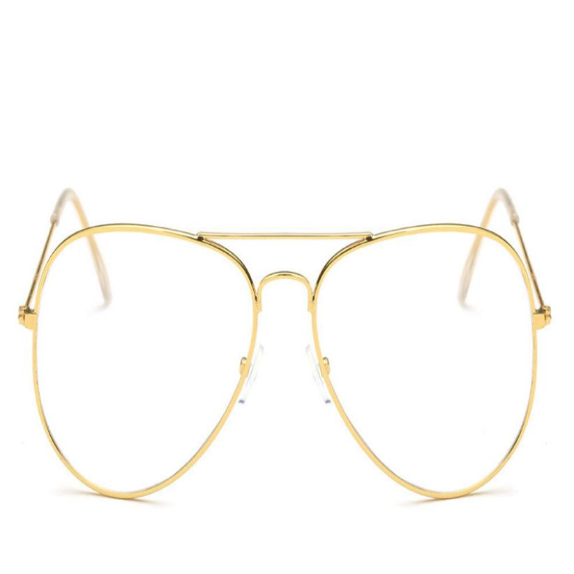 Fashion cat Glasses Frame Lunette 2019 Men Vintage Metal Frame Clear Lens Glasses Optical Glasses Women Mirror Plain glasses